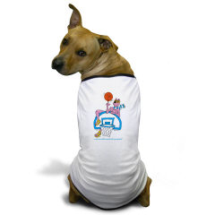 OK-9  BASKETBALL - Very Cute Doggie T-shirt (Also, the best logo in the world).