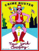 Crime Buster - New York Cowboy - He Came to Save New York!